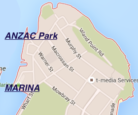 ANZAC Park map